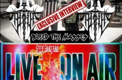 The AfterNoon HangOver w/#TheNavajoRambo & #CurlyBill feat. Bleed The Masses guitar/vocals @Chris Carpenter for #Exclusive #Interview